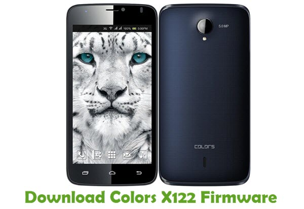 Download Colors X122 Firmware
