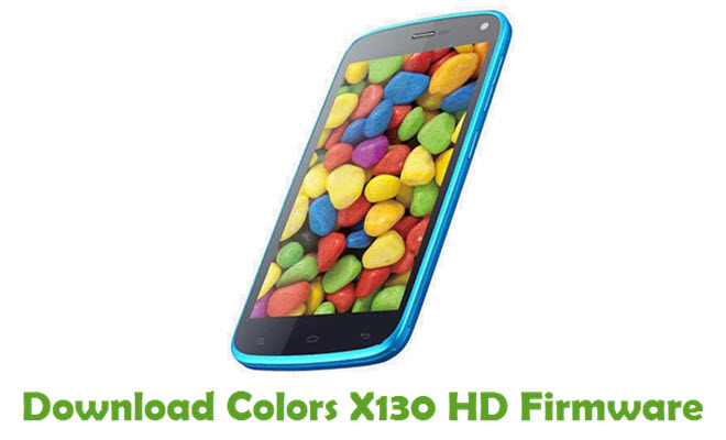 Download Colors X130 HD Firmware