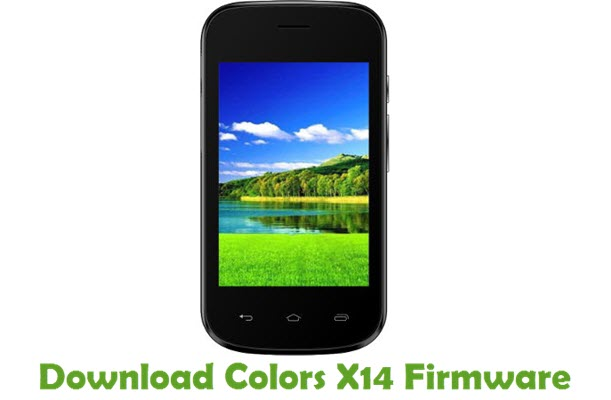 Download Colors X14 Firmware