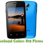 Colors X15 Firmware