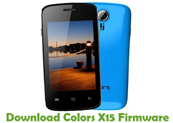 Download Colors X15 Stock ROM