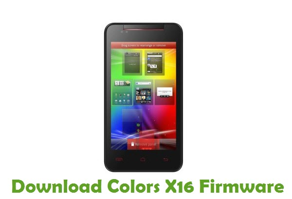 Download Colors X16 Firmware
