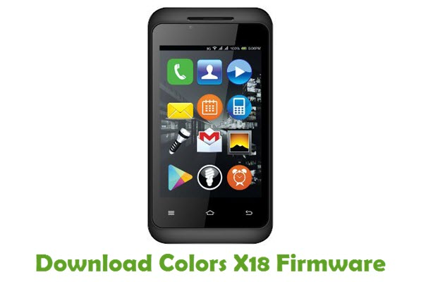 Download Colors X18 Stock ROM