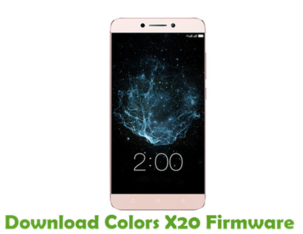 Download Colors X20 Firmware