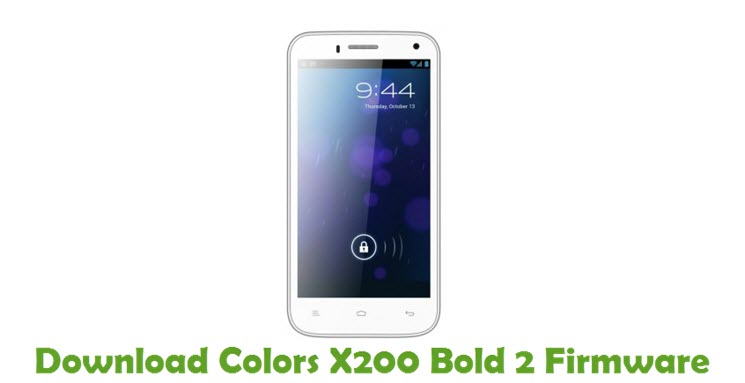 Download Colors X200 Bold 2 Stock ROM