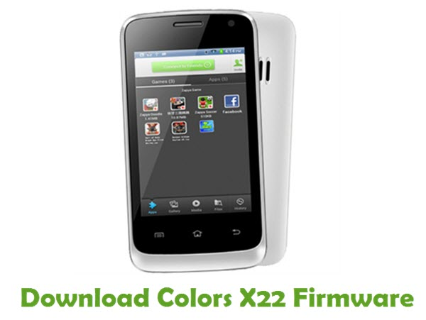 Download Colors X22 Stock ROM