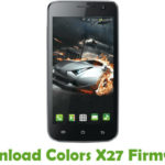 Colors X27 Firmware