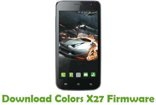 Download Colors X27 Stock ROM