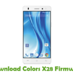 Colors X28 Firmware