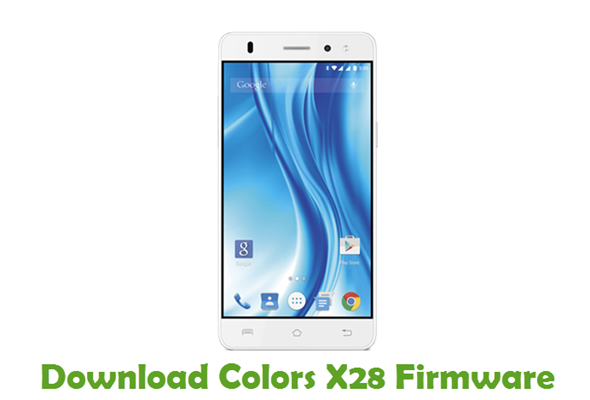 Download Colors X28 Firmware