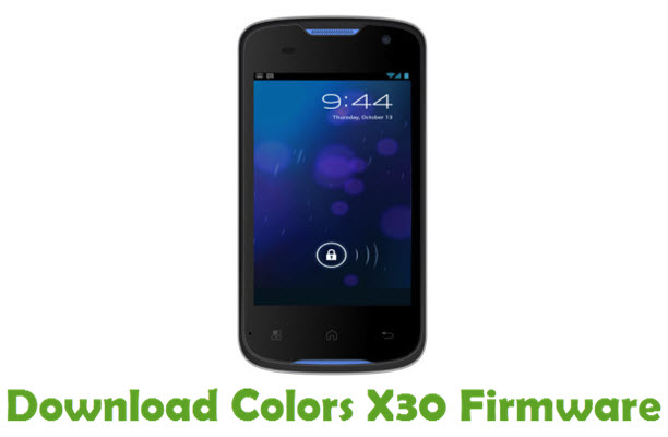 Download Colors X30 Stock ROM