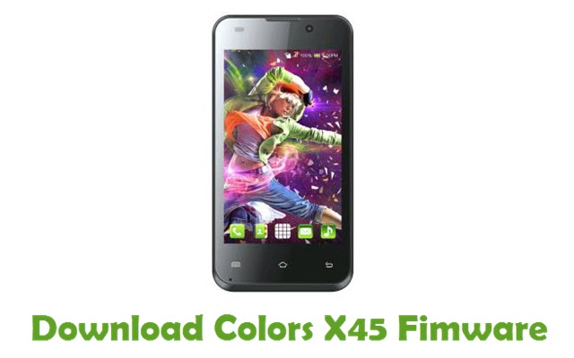 Download Colors X45 Firmware