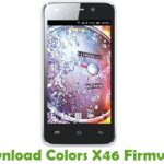 Colors X46 Firmware