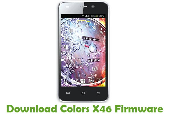 Download Colors X46 Firmware
