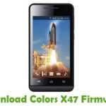 Colors X47 Firmware