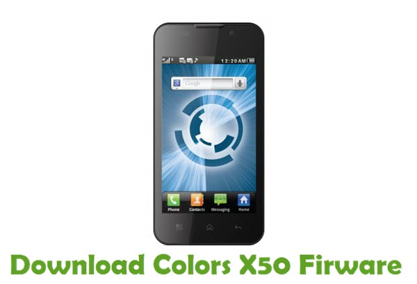 Download Colors X50 Firmware