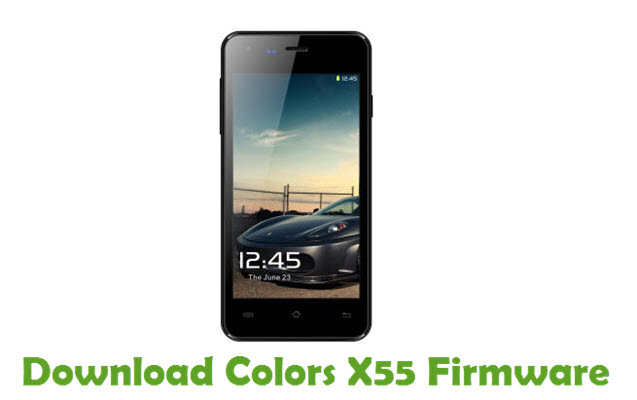Download Colors X55 Firmware