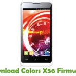 Colors X56 Firmware
