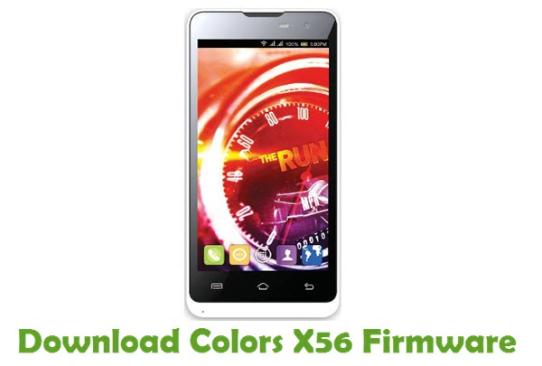 Download Colors X56 Firmware