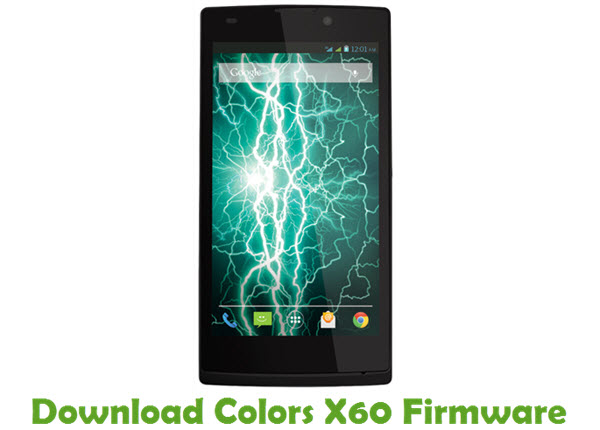 Download Colors X60 Firmware