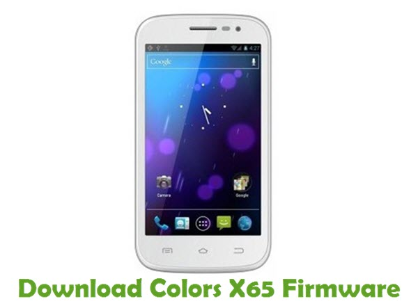 Download Colors X65 Firmware