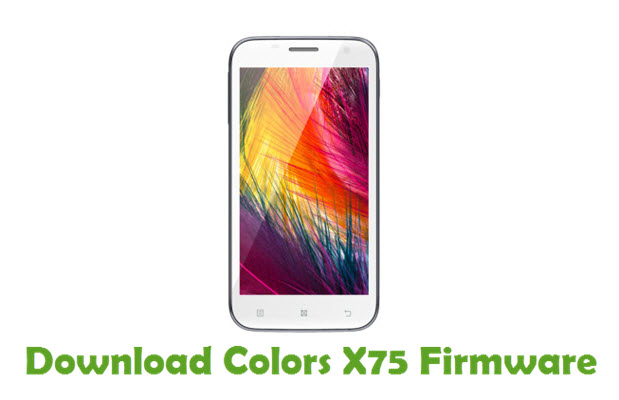 Download Colors X75 Firmware