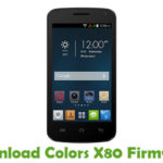 Colors X80 Firmware
