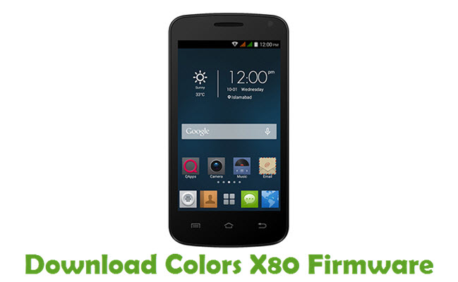 Download Colors X80 Firmware