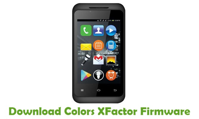 Download Colors XFactor Firmware