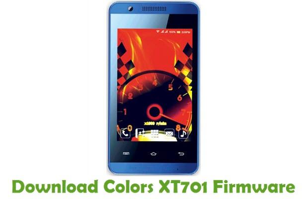 Download Colors XT701 Firmware