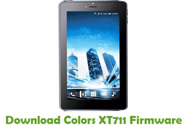 Download Colors XT711 Firmware
