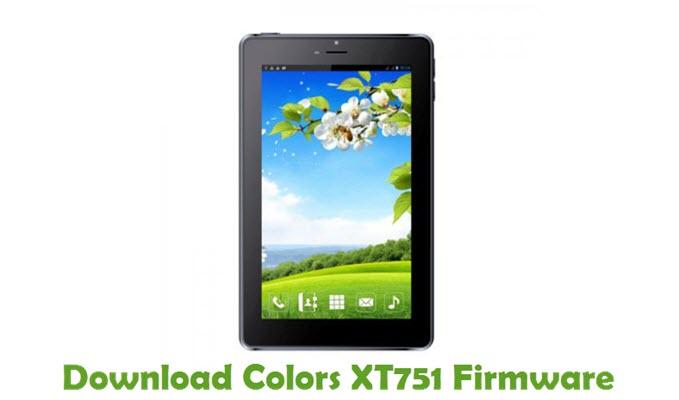 Download Colors XT751 Firmware