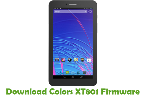 Download Colors XT801 Firmware