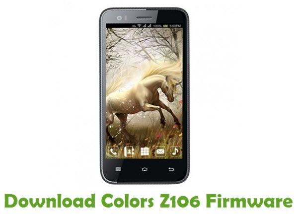 Download Colors Z106 Firmware