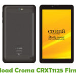 Croma CRXT1125 Firmware