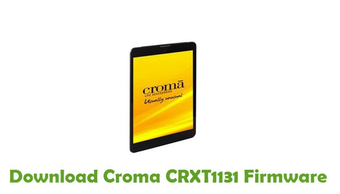 Download Croma CRXT1131 Firmware