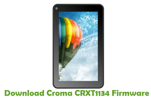 Download Croma CRXT1134 Firmware