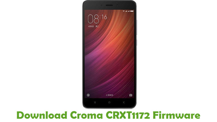 Download Croma CRXT1172 Firmware