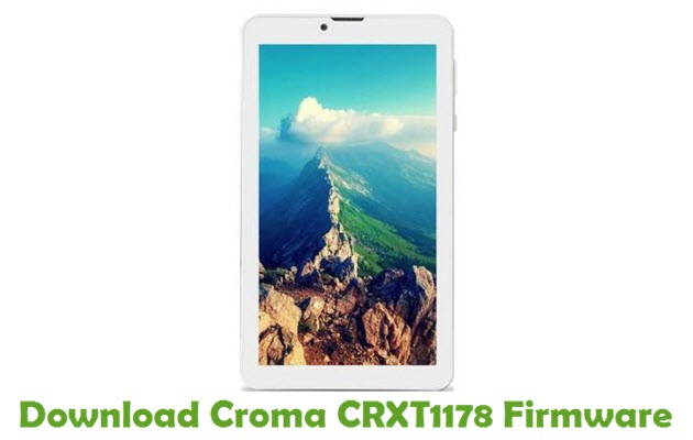 Download Croma CRXT1178 Firmware