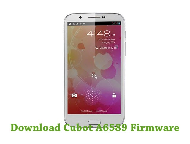 Download Cubot A6589 Firmware