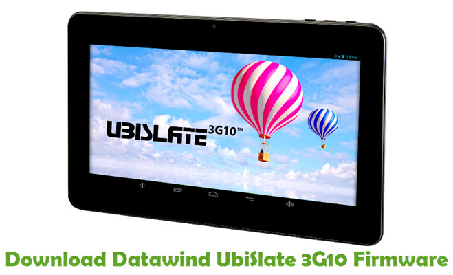 Download Datawind UbiSlate 3G10 Firmware