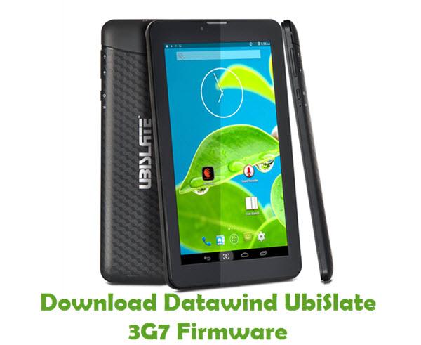 Download Datawind UbiSlate 3G7 Firmware