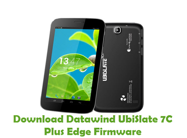 Download Datawind UbiSlate 7C Plus Edge Firmware
