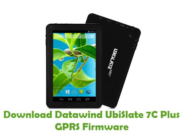 Download Datawind UbiSlate 7C Plus GPRS Firmware