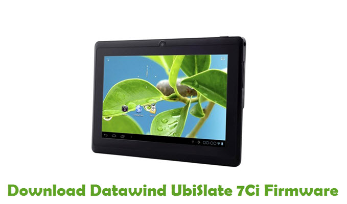Download Datawind UbiSlate 7Ci Firmware