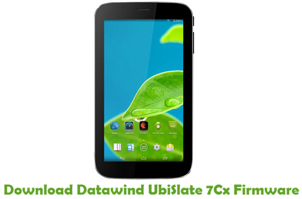 Download Datawind UbiSlate 7Cx Firmware
