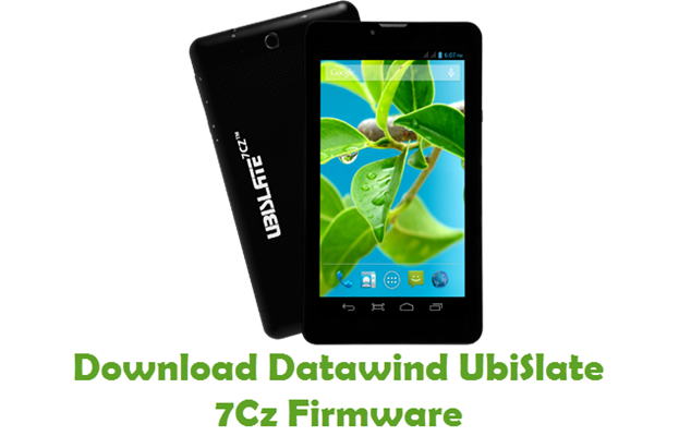 Download Datawind UbiSlate 7Cz Firmware