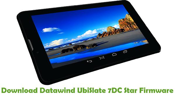 Download Datawind UbiSlate 7DC Star Firmware