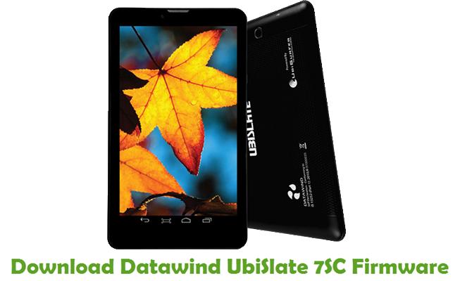 Download Datawind UbiSlate 7SC Firmware
