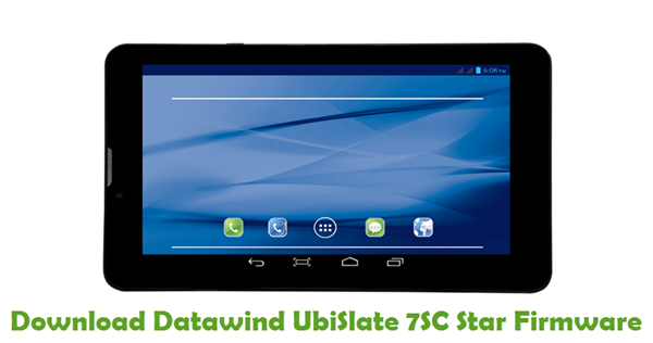 Download Datawind UbiSlate 7SC Star Firmware